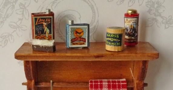 Handdoekenrek Voor Keuken : and miniatures: Handdoekenrek voor de keuken van het poppenhuis