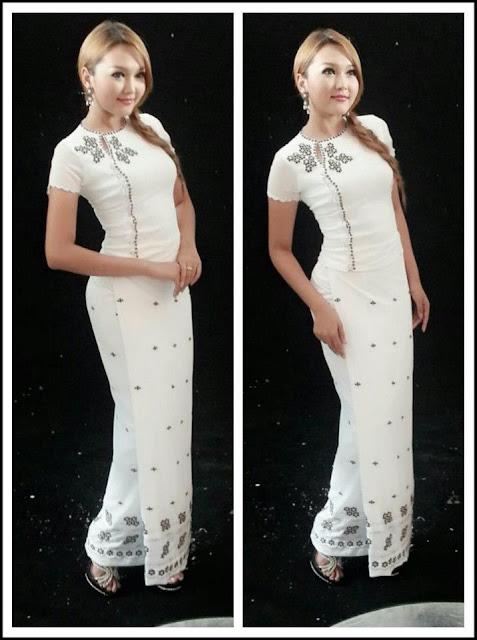 Wint Yamone Hlaing - Myanmar Dress Beauty