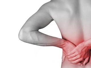 Dor nas costas lado esquerdo direito