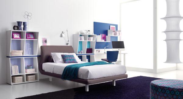 идея дизайна интерьера комнаты для подростка фото