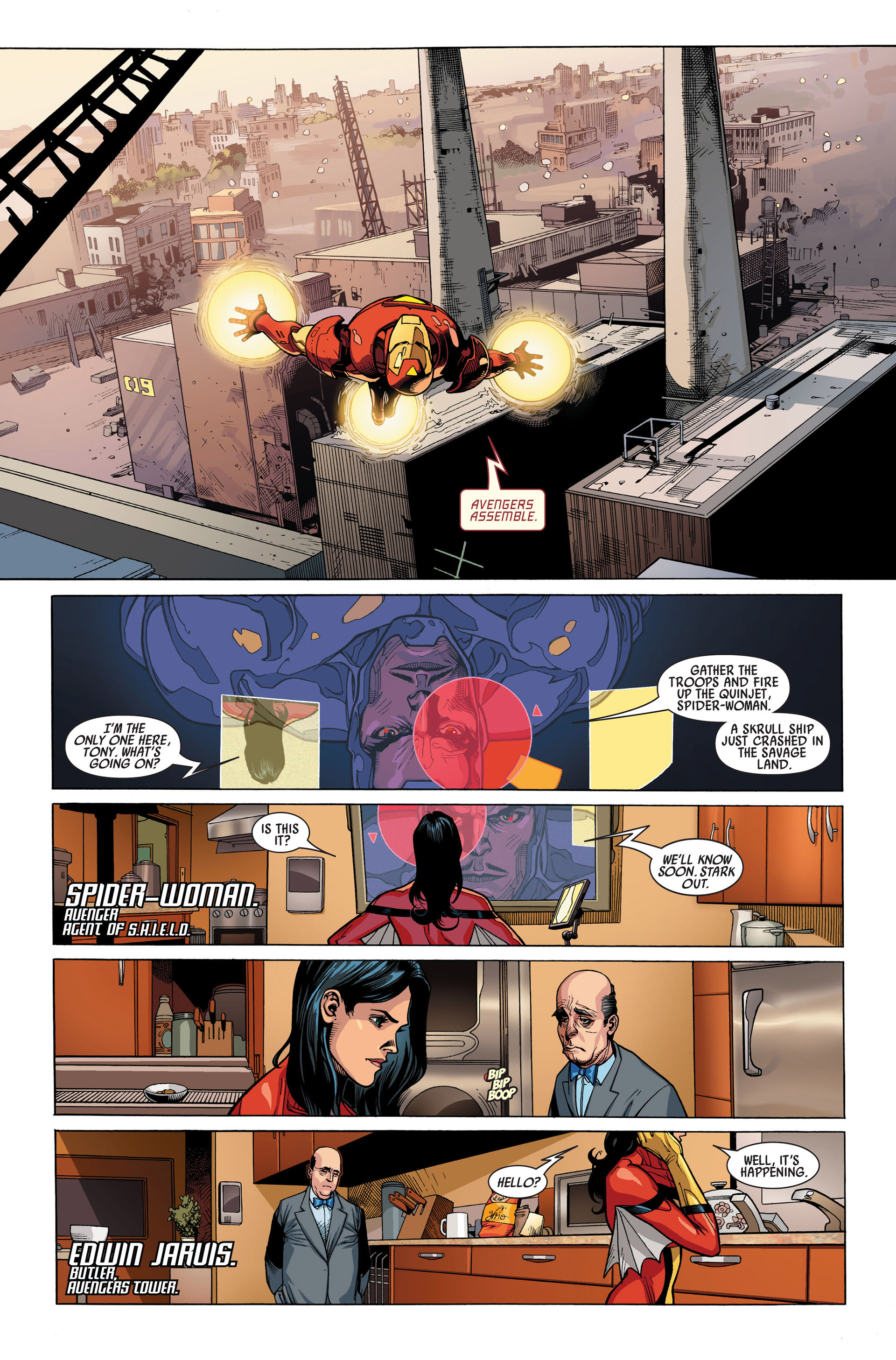 Read online Secret Invasion comic -  Issue #1 - 9
