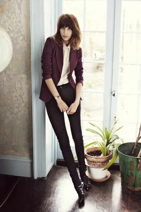 love clothing  vero moda back to the 60 u0026 39 s with alexa chung