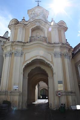 Vilnius, Vilna, Lituania, Puerta Basilia