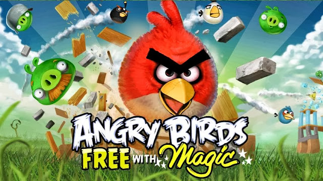 Angry Birds Magic Wallpaper 4