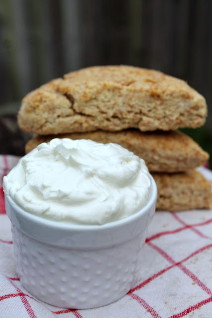 My Grandmother's Scones with Devon Cream via @labride