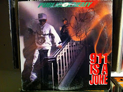 Public Enemy 911 Is A Joke Signed By Chuck D