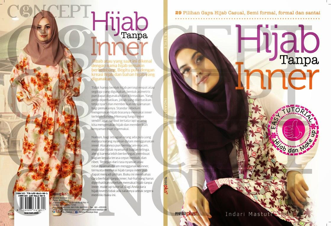 etalase desain: KONSEP: desain cover hijab tanpa inner  penebar