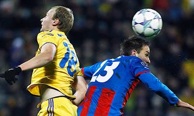 BATE Borisov 0 - 1 Viktoria Plzen (3)
