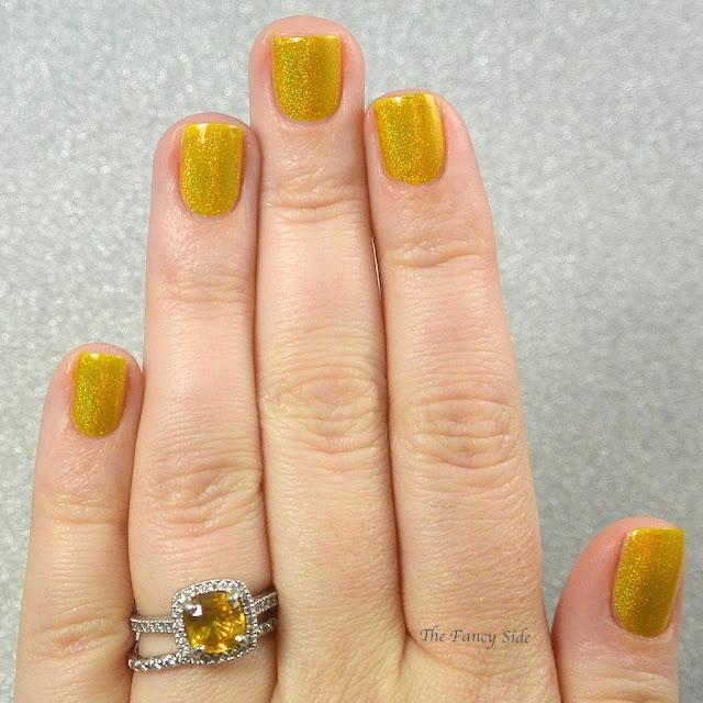 A phobe manicure lusts over ruffian nails