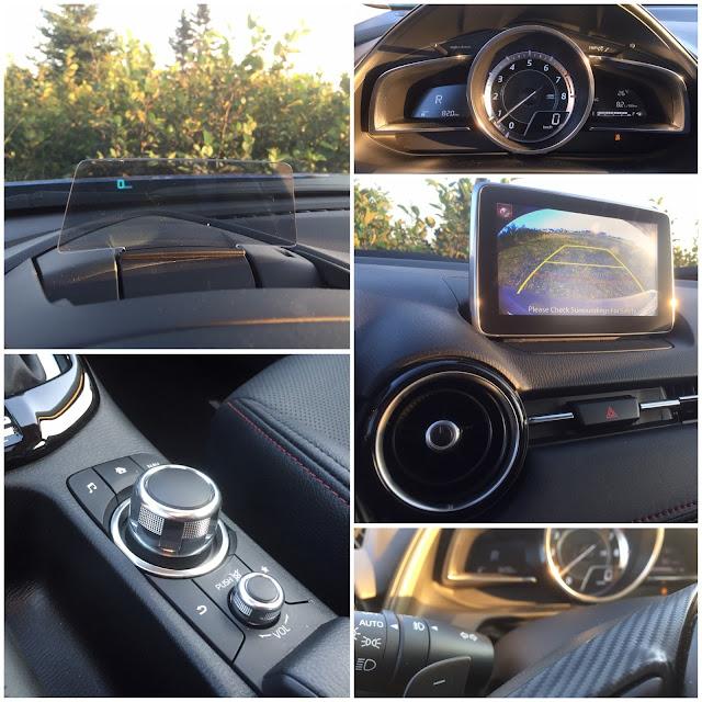 2016 Mazda CX-3 interior details