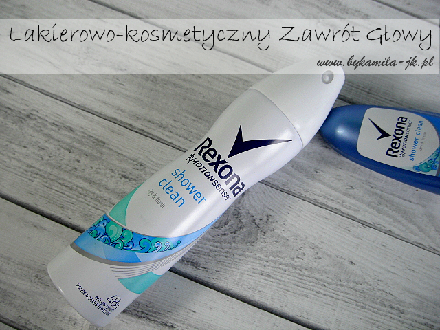 Antyperspirant Rexona Shower Clean spray w sprayu