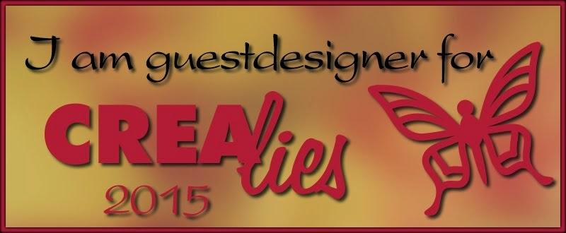 Guestdesigner Crealies 2015