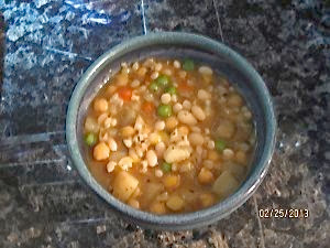 Slow Cooker Vegetables Bean & Barley Stew