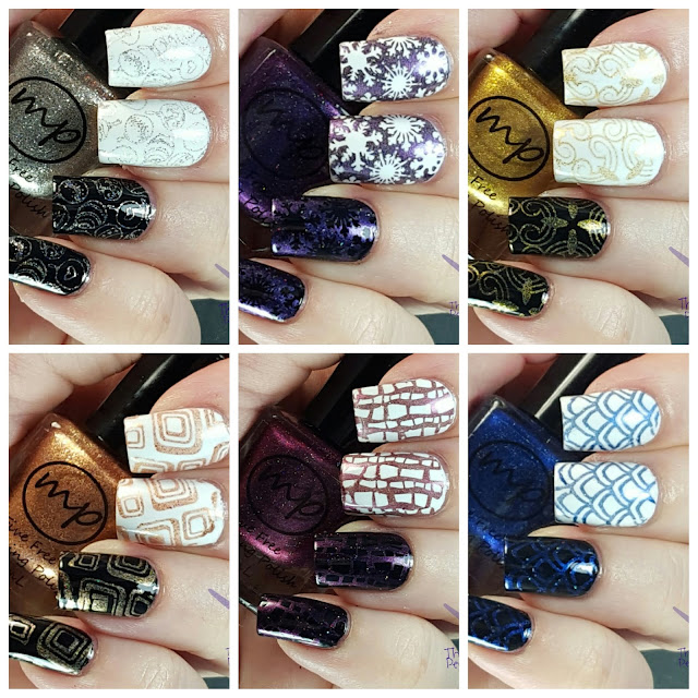 m polish winter 2015 swatches