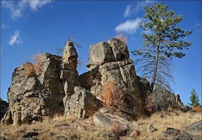 Northrup Canyon granite.