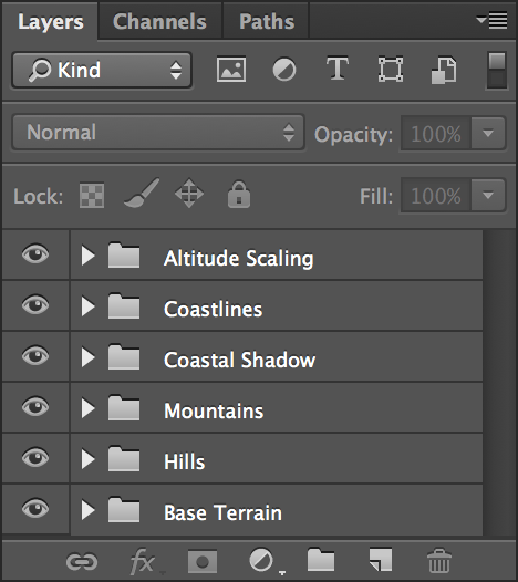 height field, height map, Thorfinn Tait, Adobe Photoshop