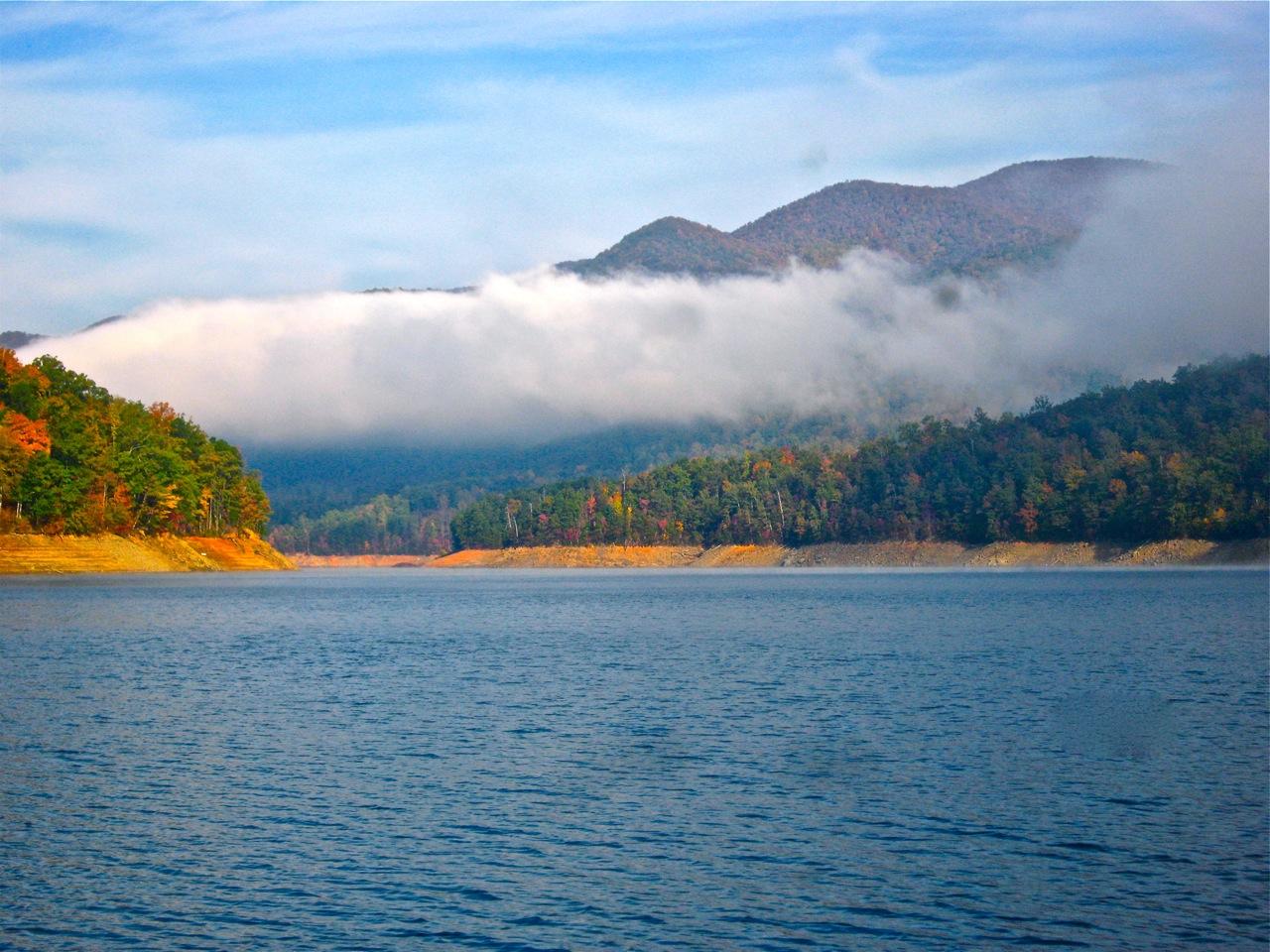 Bill's TN Paradise: Fontana Lake - October 2011