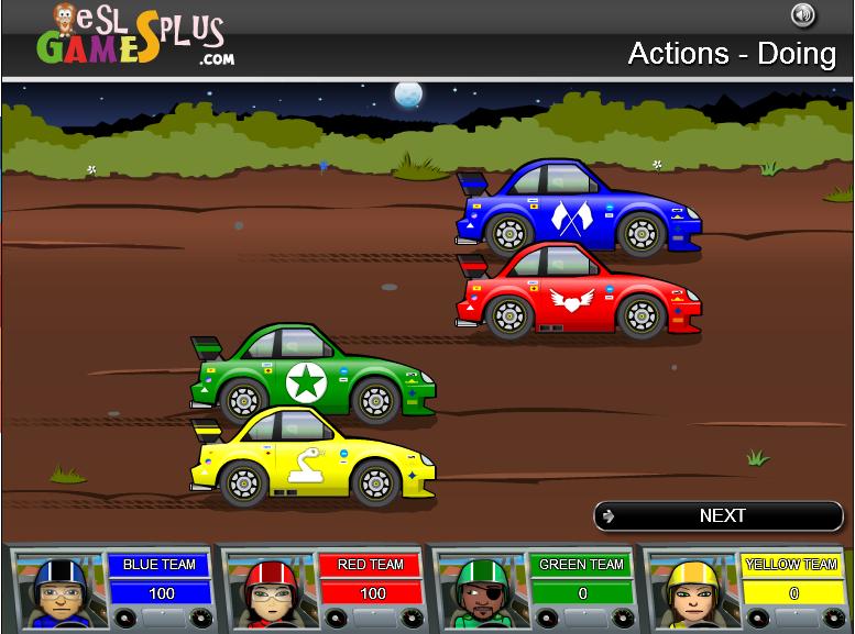 http://www.eslgamesplus.com/action-verbs-present-progressive-grammar-game-rally-game/