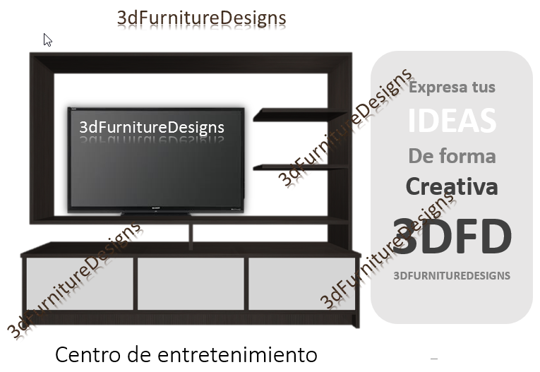 Dise os y optimisaci n de muebles en 3d for Programa muebles