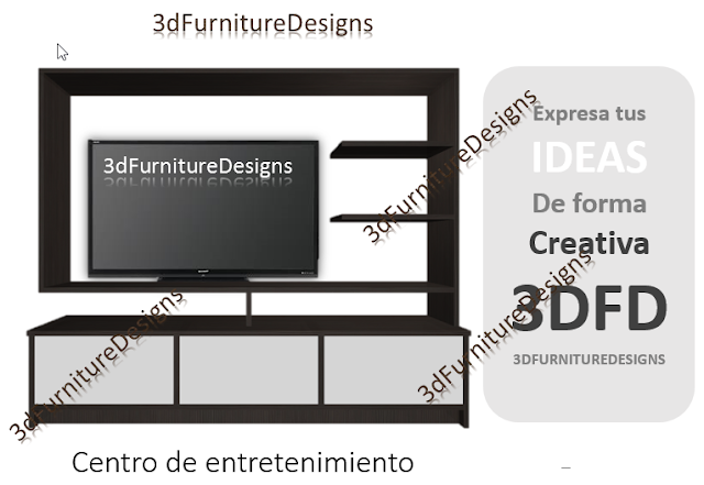 Dise os y optimisaci n de muebles en 3d for Programa para diseno de muebles