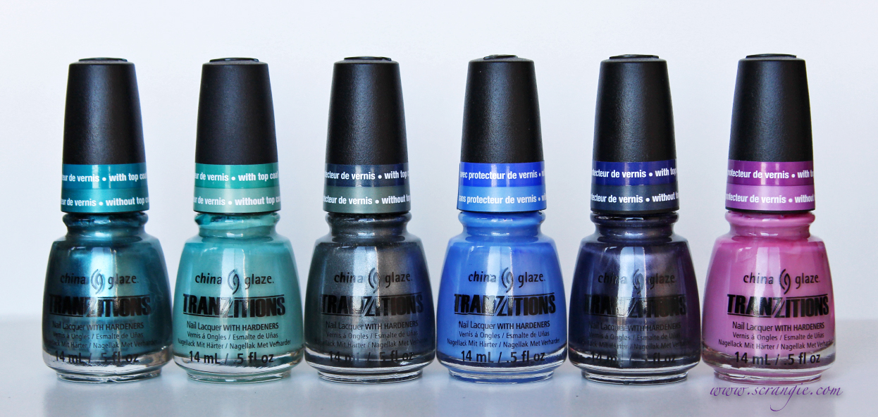Scrangie: China Glaze Tranzitions Color-Changing Nail Lacquer ...
