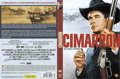 Frontal, trasera, cover, dvd, Cimarrón | 1960 | Cimarron