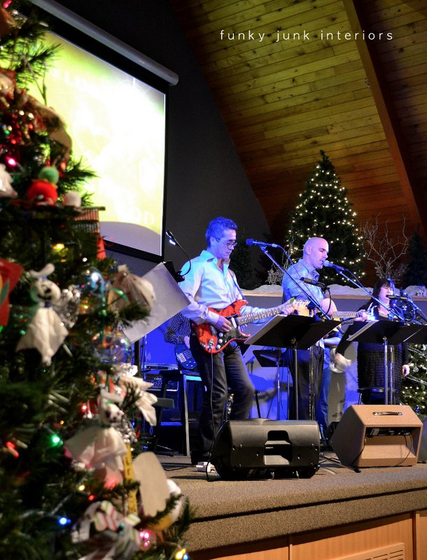 Yarrow Alliance Church Christmas concert via Funky Junk Interiors