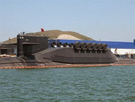 Type 094 Jin-class ballistic missile submarine