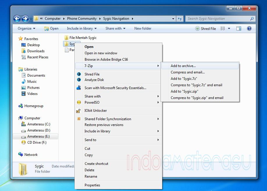Cara Memecah File dan Menggabungkan File Dengan 7zip 2