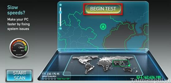 Hướng dẫn kiểm tra tốc độ internet online không cần dùng phần mềm