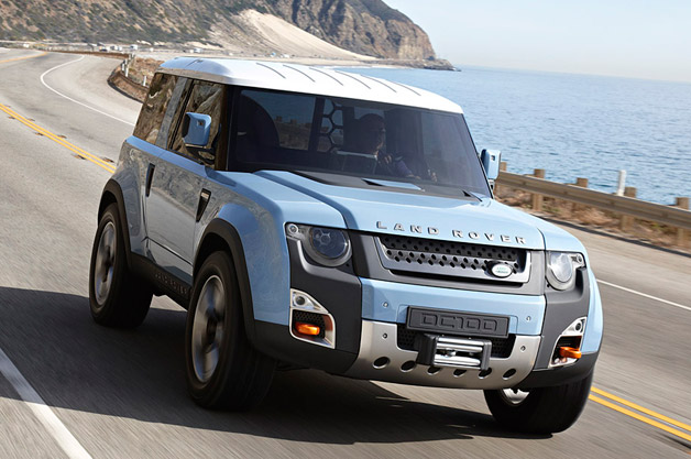 Land Rovers Baby Suv