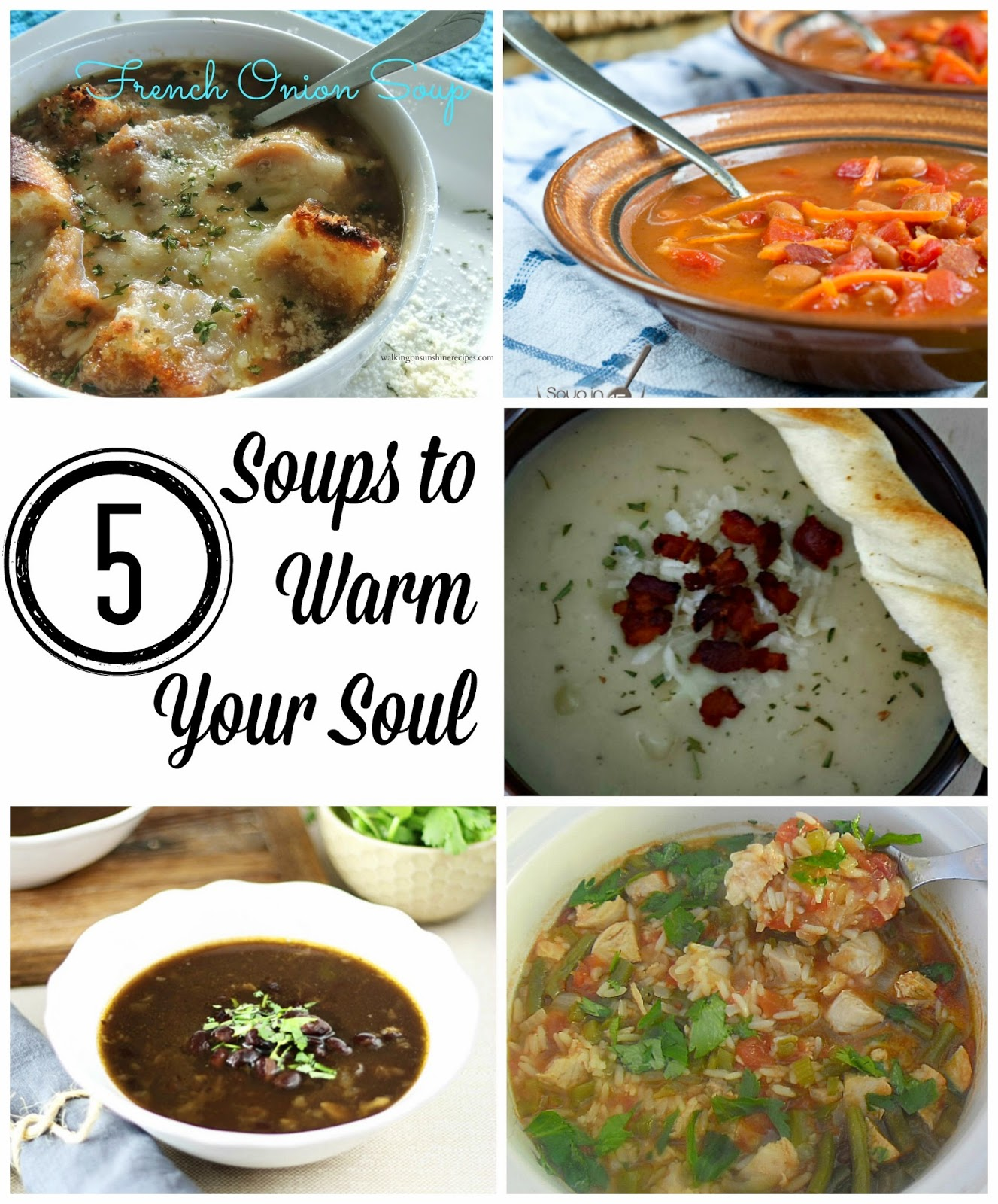 Soups to Warm Your Soul and The Project Stash Link Party - 4 You ...