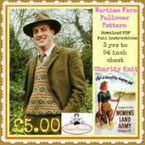 Wartime Farm Pullover