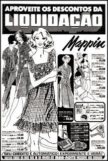 propaganda roupas anos 70; oswaldo hernandez;