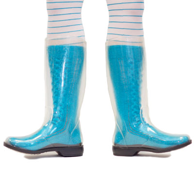Popular Womens New Clear Ladies Rain Ankle Lace Up Flat Wellington Boots Shoes