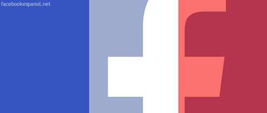 facebook bandera francia en español