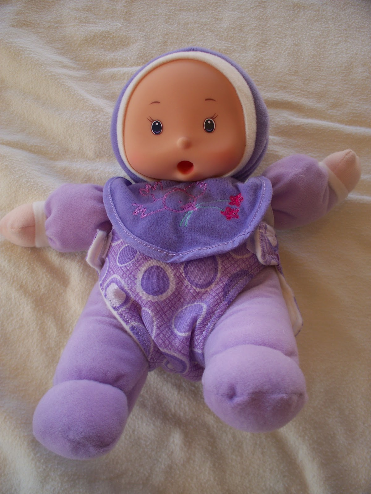 how to make a diaper for a baby doll