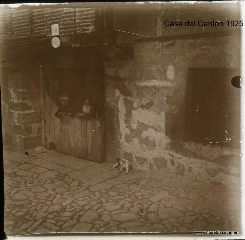 Casa del canton en candelario salamanca 1925