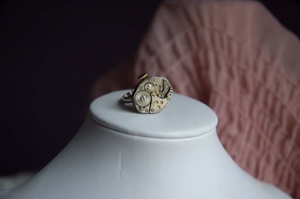 time traveler ring teateastreats.etsy.com
