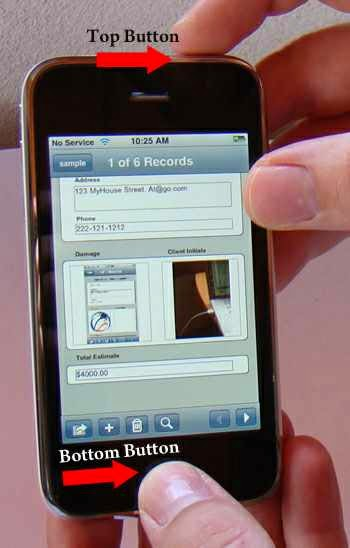 Hướng dẫn chụp ảnh màn hình trên iPhone