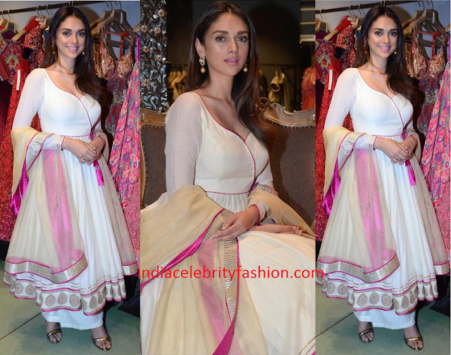 Aditi Rao Hydari in Jade by Monica and Karishma