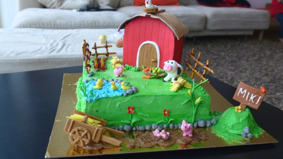 Farm Birthday Cake Sellys Corner