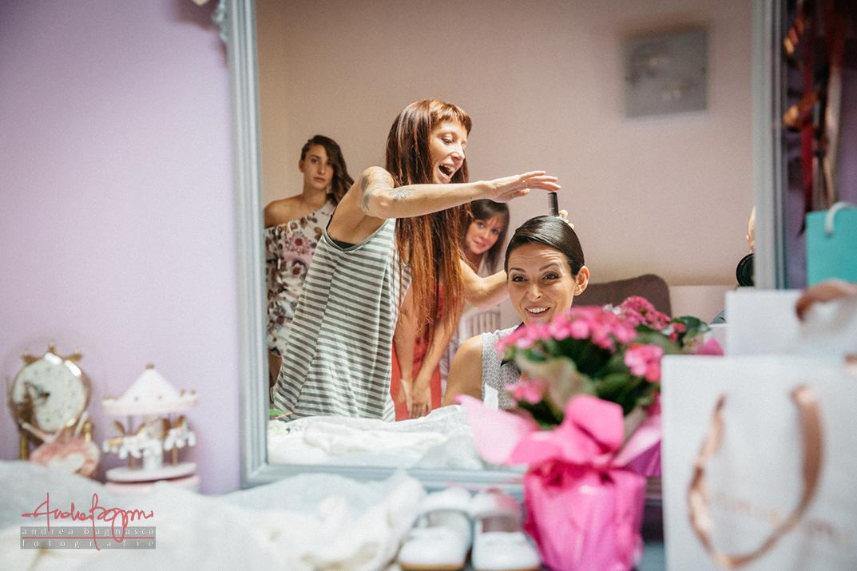 fotografo matrimonio parrucco sposa