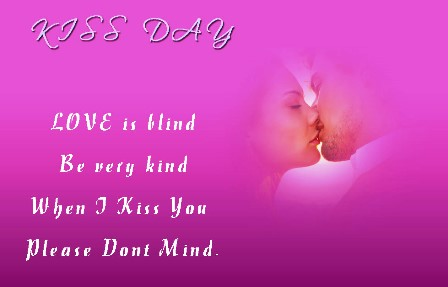 Kiss Day 2016 Messages