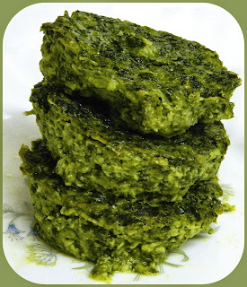 Spinach Kugelette from Bizzy Bakes