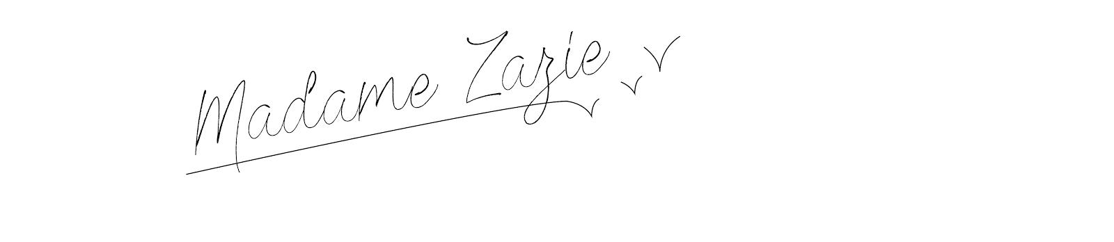 Madame Zazie