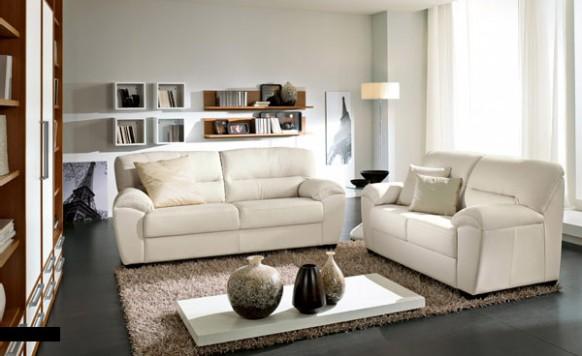 gambar desain interior minimalis sofa bed minimalis