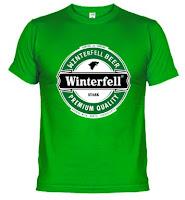 camiseta cerveza winterfell invernalia Stark - Juego de Tronos en los siete reinos