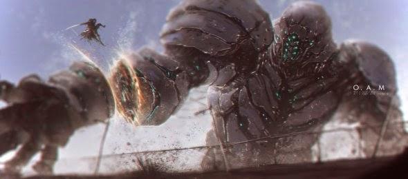 Mike Ariesta deviantart ilustrações ficção científica e fantasia estilo anime