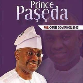 Paseda/UPN for Governor Ogun State